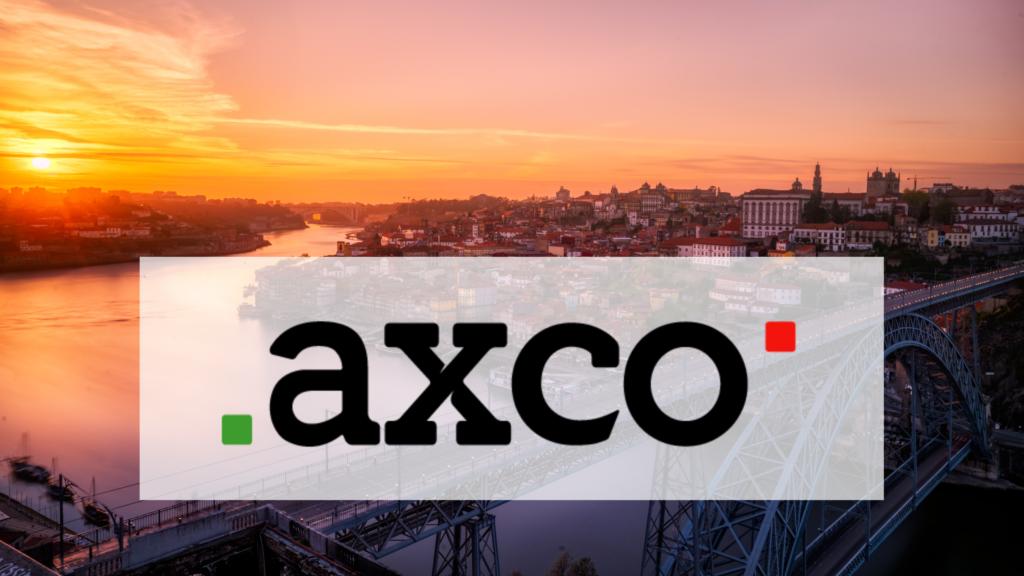 Création d'AXCO, filiale portugaise.